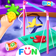 Gymnastics Superstar Clean up - Cleaning Games