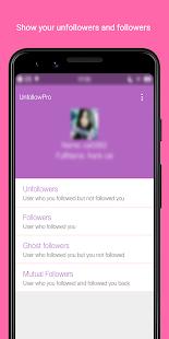 Unfollow Pro - Manage Followings & Followers
