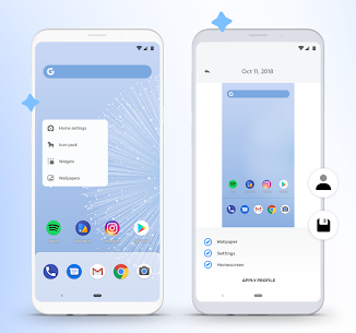 hyperion launcher Mod Apk 100 (Plus/Paid Features Unlocked) 2