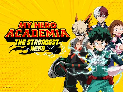 My Hero Academia: le RPG d'anime de héros le plus fort