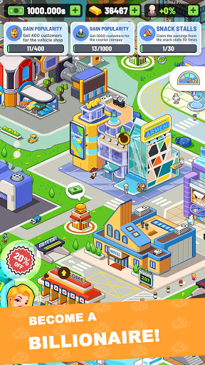 Idle Investor Tycoon - Build Your City screenshots 1