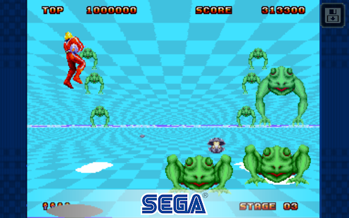 Space Harrier II Classic Screenshot