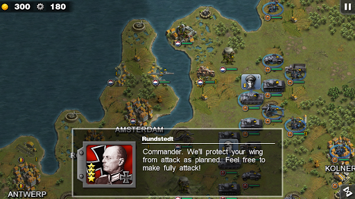 Glory of Generals Apk 1
