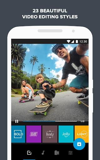 Quik u2013 Free Video Editor for photos, clips, music 5.0.7.4057-000c9d4b4 Screenshots 4