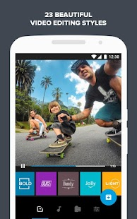 Quik – Free Video Editor for photos, clips, music Screenshot