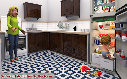 Virtual Baby Simulator Game: Baby Life Prank 2021  screenshots 11
