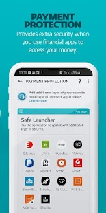 ESET Mobile Security & Antivirus Capture d'écran
