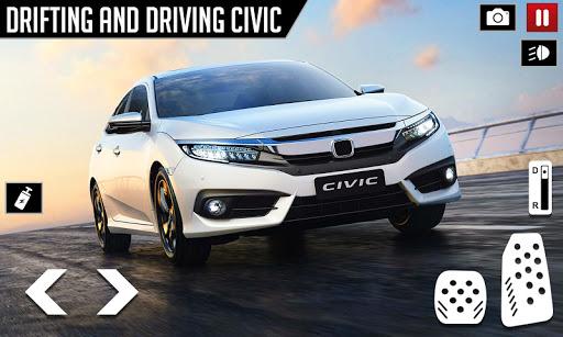 Civic Drifting and Driving Simulator Game  screenshots 1