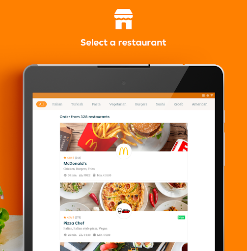 Just Eat France - Food Delivery android2mod screenshots 8
