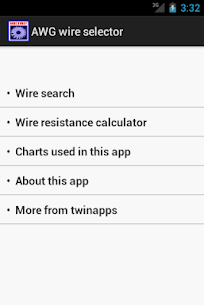 ElectricalAWG wire buddy  For Pc – Free Download For Windows And Mac 2