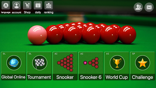 Install and Run snooker offline online billiards For Your Pc, Windows and Mac 1