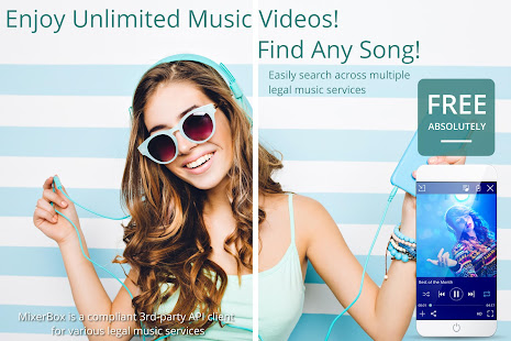 u25b6Download Nowu25c0Unlimited Free Music MP3 Player 12.87 Screenshots 1