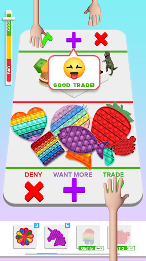 Fidget Trading : Pop it - Fidget Toys relaxing screenshots 2