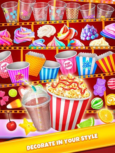 Crazy Movie Night Food Party - Make Popcorn & Soda 1.4 screenshots 3