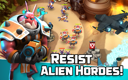 Alien Creeps TD – Epic tower defense 2.31.2 Mod + APK + Data [UPDATED] 2