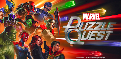 MARVEL Puzzle Quest: Join the Super Hero Battle! APK 0