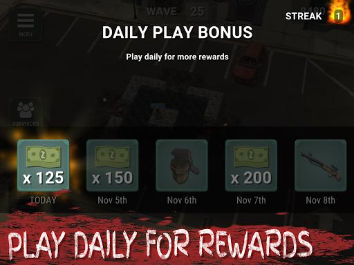 Overrun: Zombie Horde Apocalypse Survival TD Game apkpoly screenshots 14