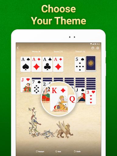 Solitaire Klondike: card games Apkfinish screenshots 11