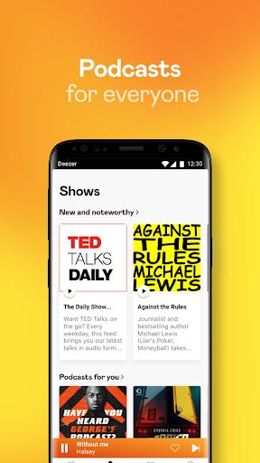 Deezer Music Player: Songs, Radio & Podcasts 6.1.14.99 Screenshots 6