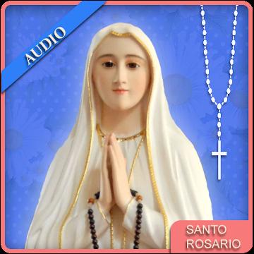 Screenshot 1 de Audio Santo Rosario para android