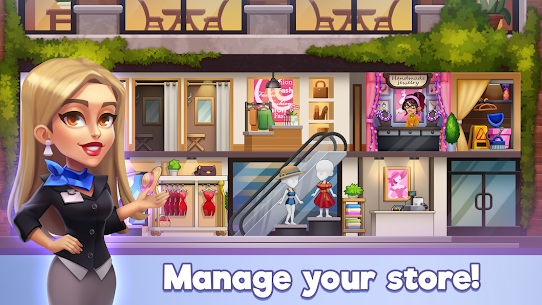 Fashion Shop Tycoon Mod Apk (Free Shopping) 1