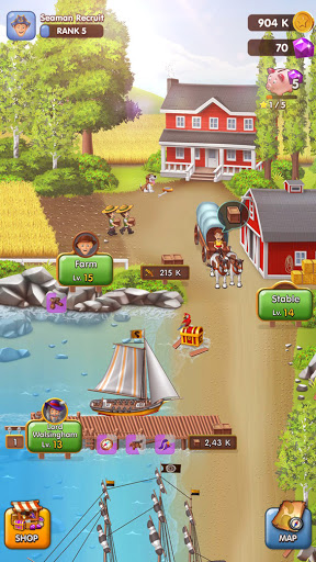 Pocket Ships Tap Tycoon: Idle Seaport Clicker apkpoly screenshots 7