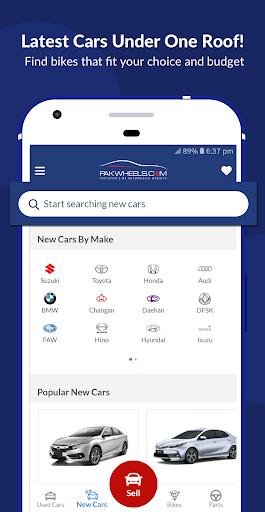 PakWheels: Buy & Sell Cars, Bikes and Auto Parts 11.7.5 Screenshots 8