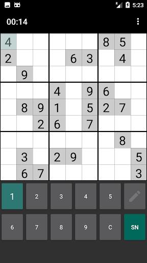Sudoku free App Extreme apklade screenshots 1