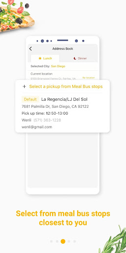 hungryus - free lunch&dinner food delivery screenshot 3