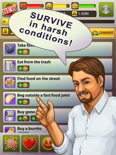 Hobo World - life simulator Apkfinish screenshots 6