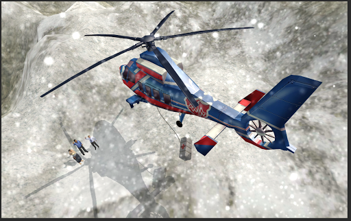 Helicopter Hill Rescue  screenshots 2
