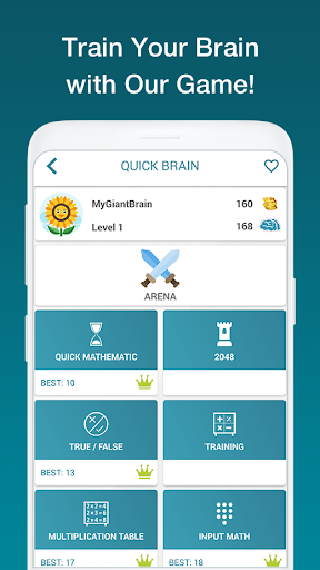 Math Exercises for the brain, Math Riddles, Puzzle 2.5.8 screenshots 1