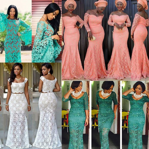 AFRICAN LACE STYLES 2021