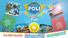 Robocar poli: Memory Game Funのおすすめ画像1
