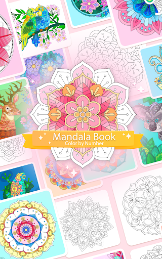 Color by Number u2013 Mandala Book modavailable screenshots 15