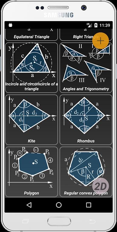 Geometryx: Geometry - Calculator  poster 1
