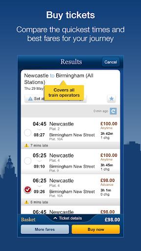 National Rail Enquiries 9.4.9 Screenshots 4
