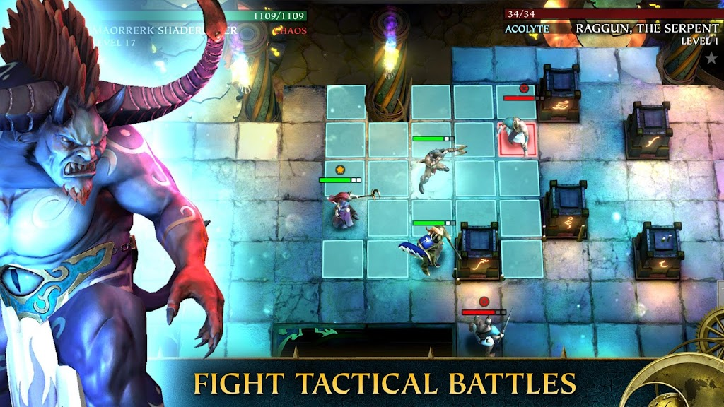 Warhammer Quest: Silver Tower -Turn Based Strategy poster 0