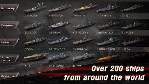 Télécharger WARSHIP BATTLE:3D World War II mod apk screenshots 4