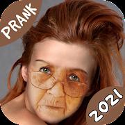 Make Me Old, Old Face Maker Prank Funny Stickers