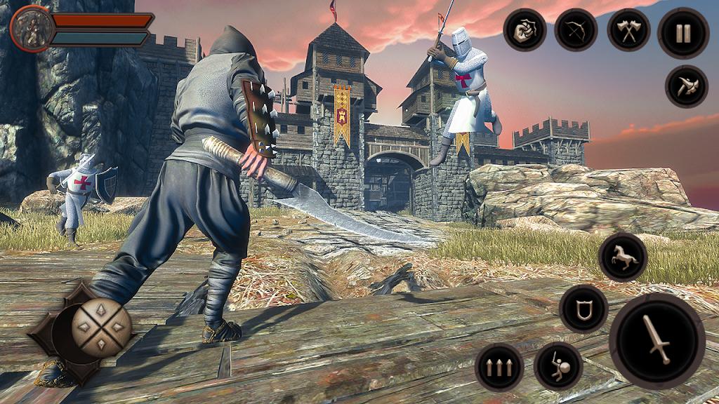 Ninja Samurai Assassin Hunter: Creed Hero fighter poster 6