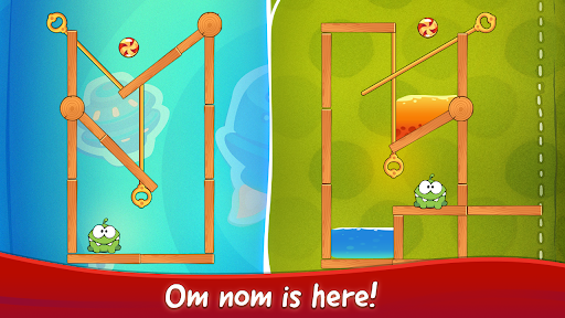 Om Nom Pin Puzzle android2mod screenshots 13