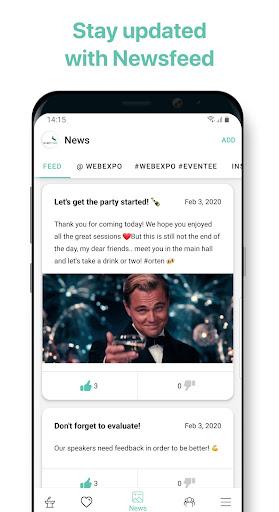 Eventee - Your Event Buddy 2.8.3 screenshots 5