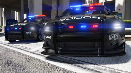 Police Cop Chase Racing: City Crime android2mod screenshots 11