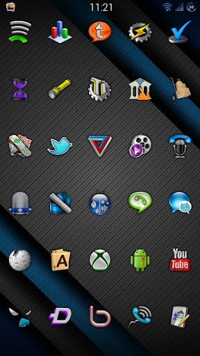 Cobalt Icon Pack  screenshots 6