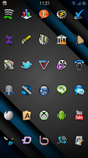 Cobalt Icon Pack Screenshot