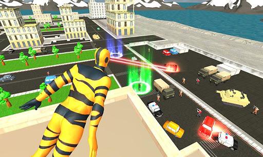 Flying Superhero Revenge: Grand City Captain Games  apktcs 1