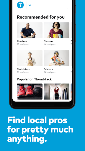 Thumbtack Book pros - handymen, movers & much more Apk 1
