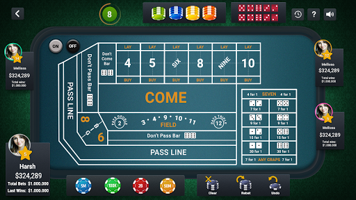 Craps Live Casino apkmr screenshots 8