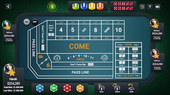 Craps Live Casino 8